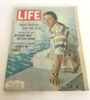 Life Magazine October 13 1967 Ingrid Bergman Ends Her Exile