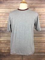Tommy Bahama Relax Men's Short Sleeve Crew Neck Gray T-Shirt, Size Medium, A7