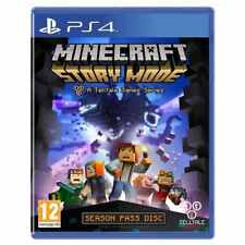 Minecraft Story Mode (PS4) Telltale Game - PRESTINE - 1st Class Fast Delivery