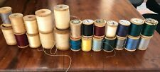 Lot 24 Old thread lots CLARK STAR MERCERIZED all colors