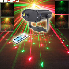 Mini R&G Laser Full Stars Patterns Dance Disco Bar Party Xmas Light DJ Light B34