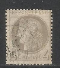 France 1870-73 Ceres 4c gray (52) used