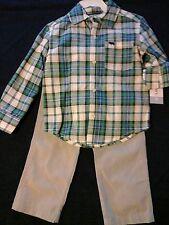 Carter's 2T shirt and pants set baby boy clothes