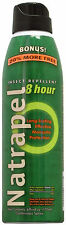 NATRAPEL 8 HOUR INSECT REPELLENT 5 OZ CONTINUOUS SPRAY CAMPING HIKING OUTINGS