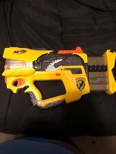Nerf Firefly Rev-8 N- Strike Blaster Dart Gun Yellow Tested/ Works