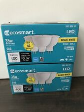 6-Pack Ecosmart LED Bright White GU5.3 Dimmable 35W 400 Lumens #1001654101 NEW!