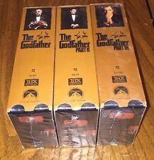 Godfather Trilogy - VHS - 6 tape set - NEW SEALED