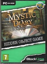 MYSTIC DIARY: MISSING PAGES Hidden Object PC Game NEW