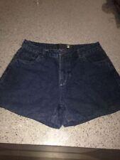 High Waist Machine Washable Textured Shorts for Women