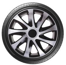 """4 x 14"""" Wheel Covers Hub Caps 14 Inch Wheel Trims Trim ABS Plastic Trim DracoSLV"""