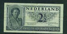 NETHERLANDS - 1949 21/2 Gulden Circulated Banknote
