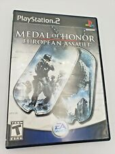 Medal of Honor: European Assault(Sony PlayStation 2, 2005)Free Shipping Complete