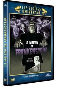 DVD - LA MAISON DE FRANKENSTEIN / KARLOFF, CARRADINE, UNIVERSAL, VO.ST, NEUF