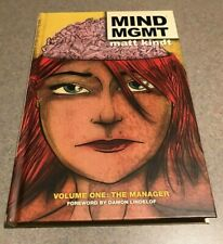 MIND MGMT: Volume One: The Manager (Dark Horse Comics Hardcover) by Matt Kindt