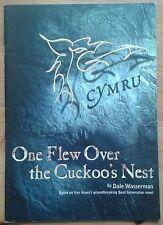 One Flew Over The Cuckoo's Nest programme Clwyd Theatr Cymru 2004 Dyfrig Morris