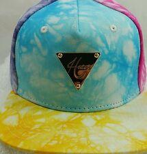 Hater Snapback Multi-colored Tye-Dye Cool Hat Supreme Style Obey Jordan