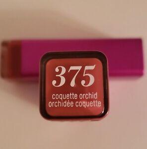 2 CoverGirl Coquette Orchid Lipstick #375 NEW