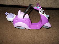 Barbie Mo-Ped /Vespa/Scooter Pink,Purple&White