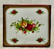 """Royal Albert, Coasters, Set of 6, """"Old Country Roses"""" Pattern."""