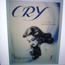 art cover CRY Churchill Kohlman 1951