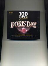 DORIS DAY - 100 HITS - LEGENDS - 5 CDS - NEW!!