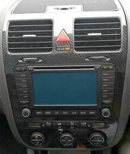 VW GOLF 5 V Set CLIMATRONIC Fibra di Carbonio Lucido 5D console,bocchette d´aria