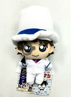 Detective Conan Case Closed Mascot Keychain Toy Plush Doll Kaito Kid SG0975