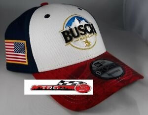 Kevin Harvick New Era #4 Busch Salute 9Forty Adjustable Hat FREE SHIP!