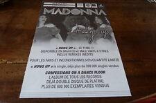 MADONNA - Plan média / Press kit !!! HUNG UP !!!