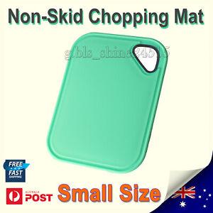 Non-Skid Mini Bar Chopping Plastic Board Kitchen Cooking Cutting Herbs Vegi Mat