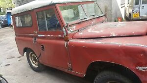 Land Rover SWB Series 3 diesel Hard Top 1976 P Reg. Restoration Project.