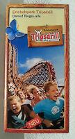 Freizeitpark Erlebnispark Tripsdrill. Prospekt von 2008.