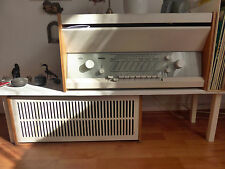 Braun Atelier 1-81 Röhrenradio Designklassiker Dieter Rams + Box L1