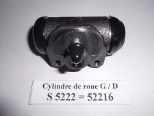 Peugeot 202 / 203 / D3A cylindre de roues arrière en 25,40 mm neuf