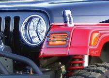 Headlight Guard-Sport Rampage 85660 fits 15-16 Jeep Wrangler