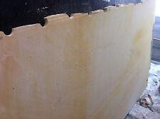 Fensterbank Sohlbank Sims Naturstein Sandsteinplatte Abdeckung Naturstein gelb