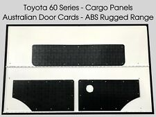 Toyota Land Cruiser 60 Series ABS Cargo Trim Panels. Rugged & Waterproof.