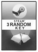 3 Random PREMIUM STEAM KEY NO TRASH