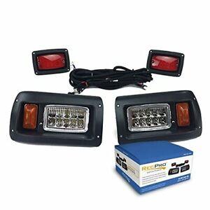 Club Car DS Adjustable LED Headlights & LED Tail-Lights Kit 1982 & UP