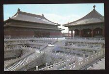 Hall of Preserving Harmony & Hall of Central Harmony Postcard--Beijing, China