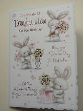 daughter in law birthday card~birthday card daughter in law~free p/packing~