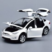 Tesla Model X 90 1:32 Model Cars Toys Sound&Light Gifts Alloy Diecast White New