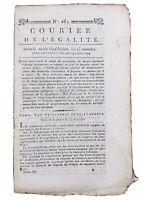 Collioure en 1794 Port Vendre Maubeuge Fleurus Avesnes Lacoste Révolution France