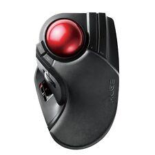 New Elecom Trackball Mouse Wireless Large Ball 8 Button Tilt Function M-HT1DRXBK