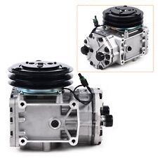 New York Type Ac Compressor 2groove Clutch For Freighliner Kenworth Peterbilt