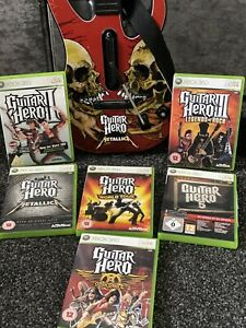 guitar hero xbox 360 Guitar 5 Games