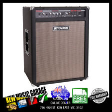 STRAUSS 150 WATT BASS AMPLIFIER COMBO BLACK