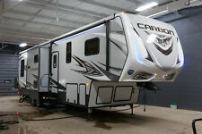 2018 Keystone Carbon 347 Toyhauler RV 5th Wheel Toy Hauler 12'6 Garage Raptor