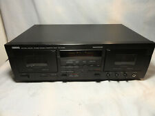 Yamaha KX-W492 Natural Sound Stereo Double Cassette Deck