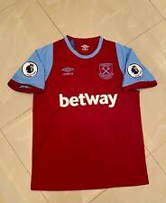 Liga Premier West Ham United Home Soccer Jersey 20/21 Size M